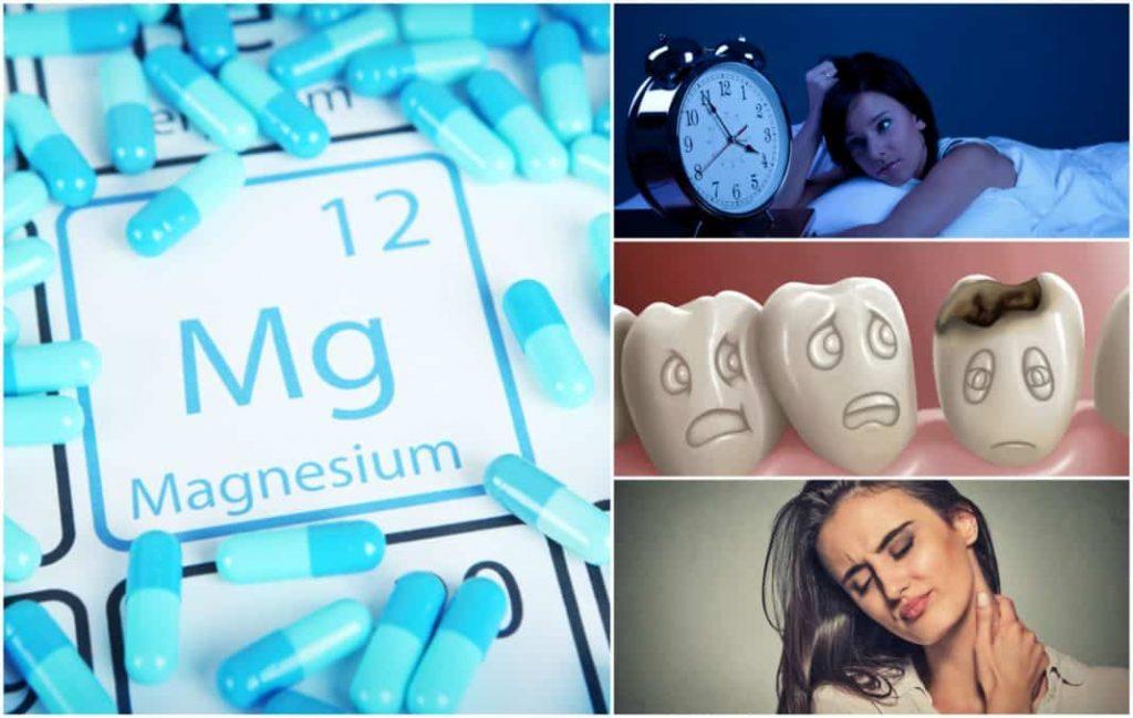 problemi s nedostatkom magnezija
