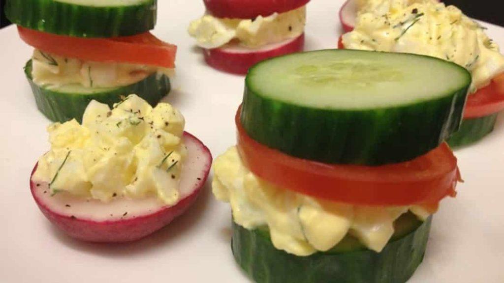 Diät mit Eiern und Gurken